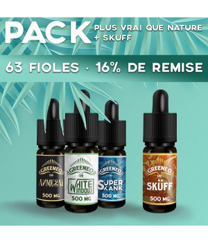Pack Plus Vrai Que Nature 63 fioles Packs